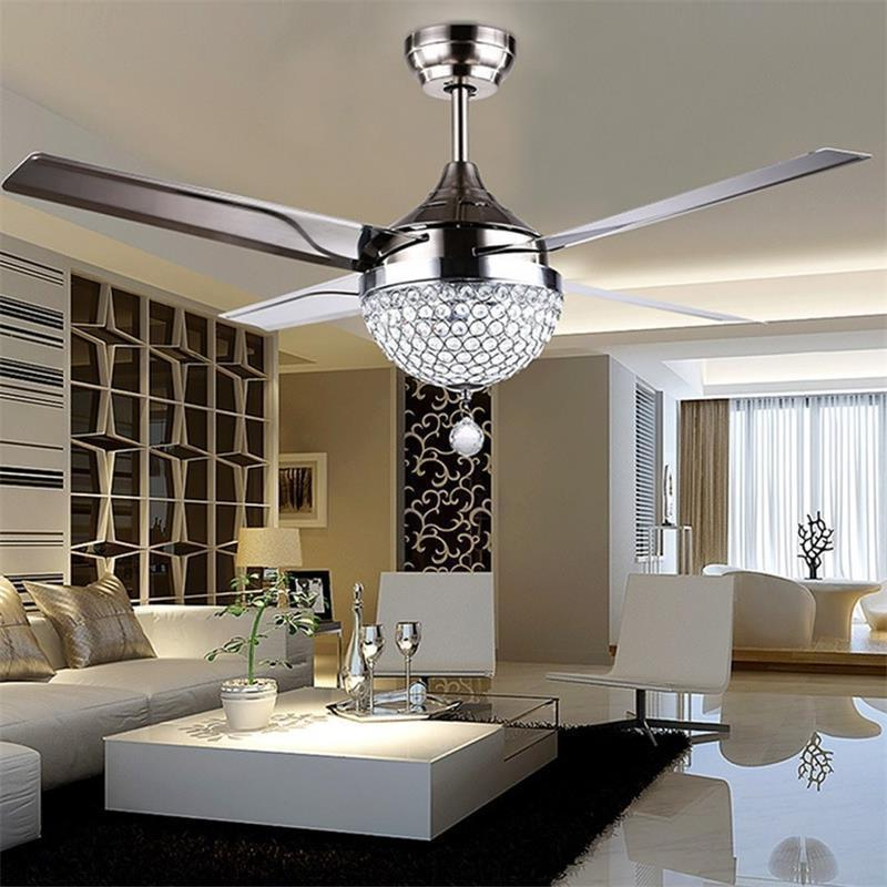 Crystal LED Chandelier Invisible Ceiling Light Ceiling Lamp