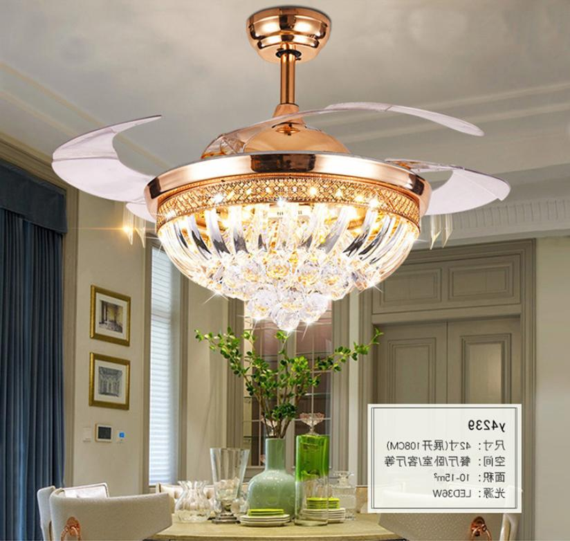 Crystal Ceiling Light Lamp w/
