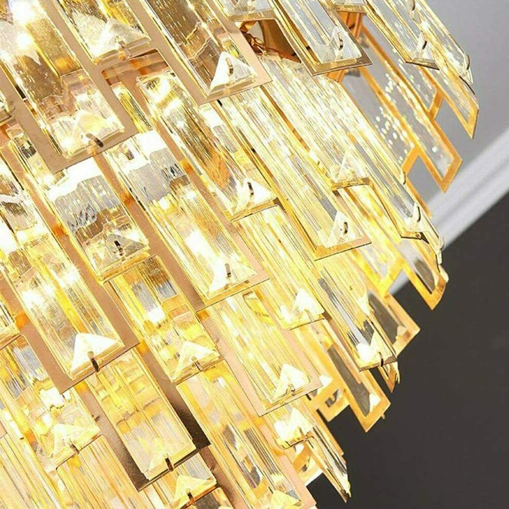 Crystal Ceiling with Light Dimmable Chandelier