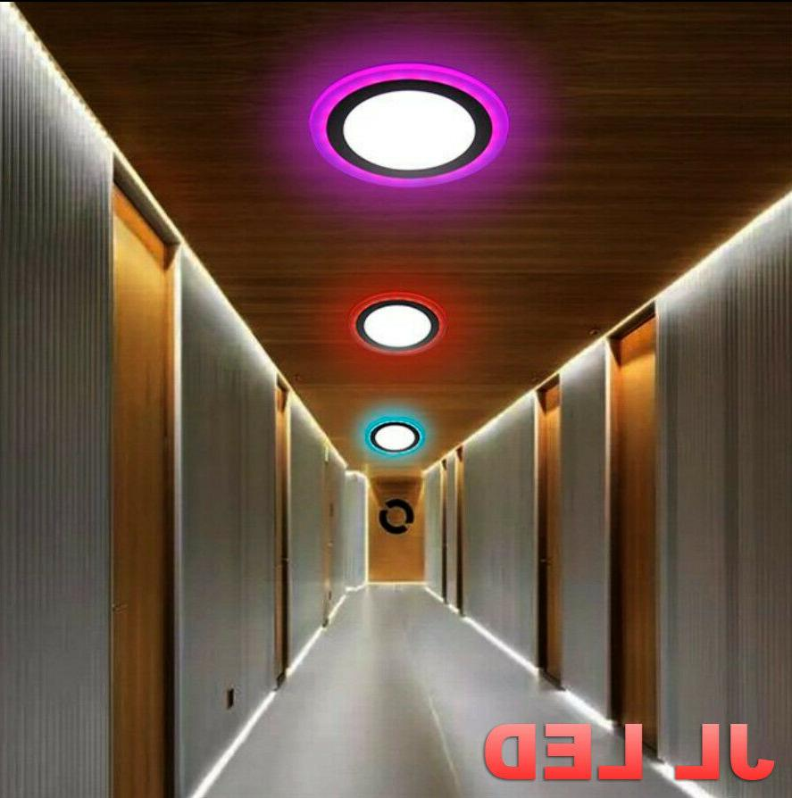 Dual Color LED Ceiling Fans Recessed SELLER