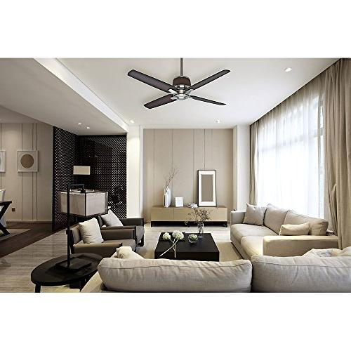 Casablanca 54-inch Brushed Ceiling with