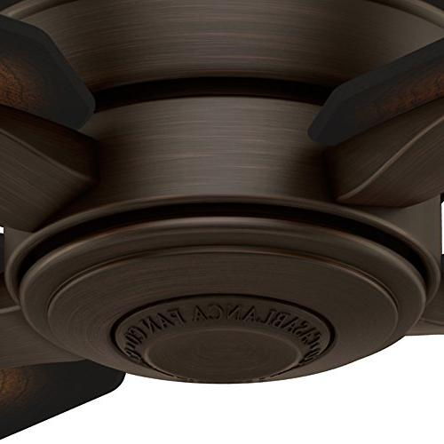 Casablanca Company 59124 Aris 54-inch Cocoa Ceiling with Burnished Mahogany Blades