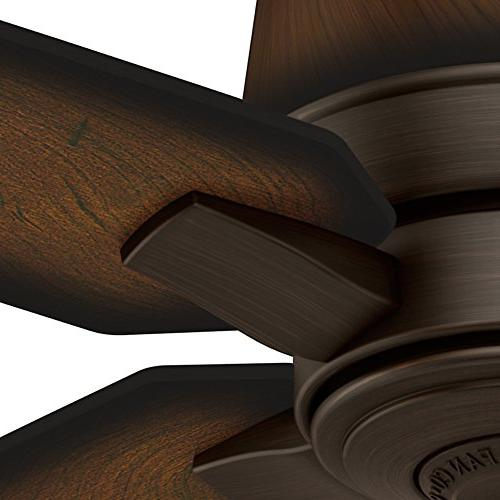 Casablanca Fan Company Aris Brushed Cocoa Ceiling Fan with Burnished Mahogany