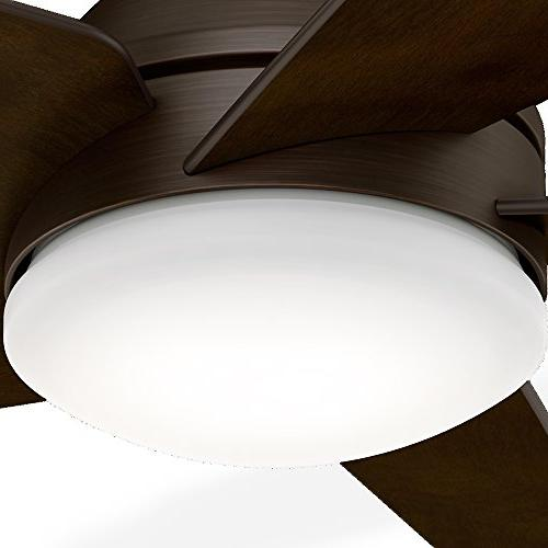 Casablanca 59356 Ceiling Fan with with Control, Brushed Cocoa