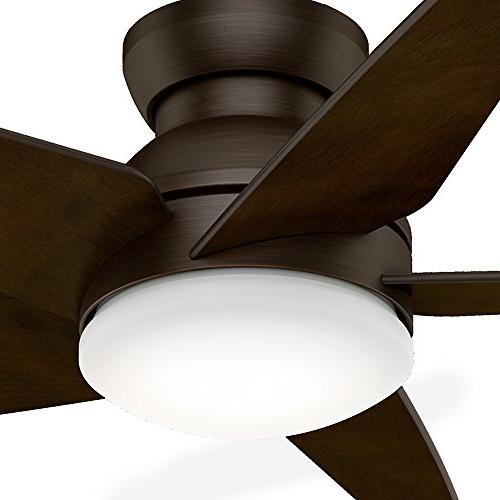 """Casablanca 59356 52"""" Ceiling Fan with Light with Wall Control, Large, Brushed"""