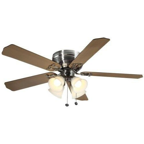indoor ceiling fan with light kit 52