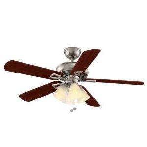 lyndhurst brushed nickel ceiling fan