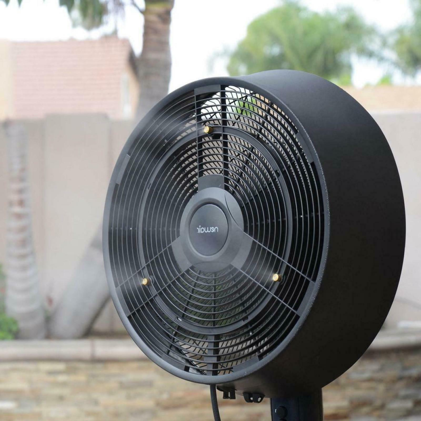 Outdoor Fan Powerful Misters up 500 sq. in.