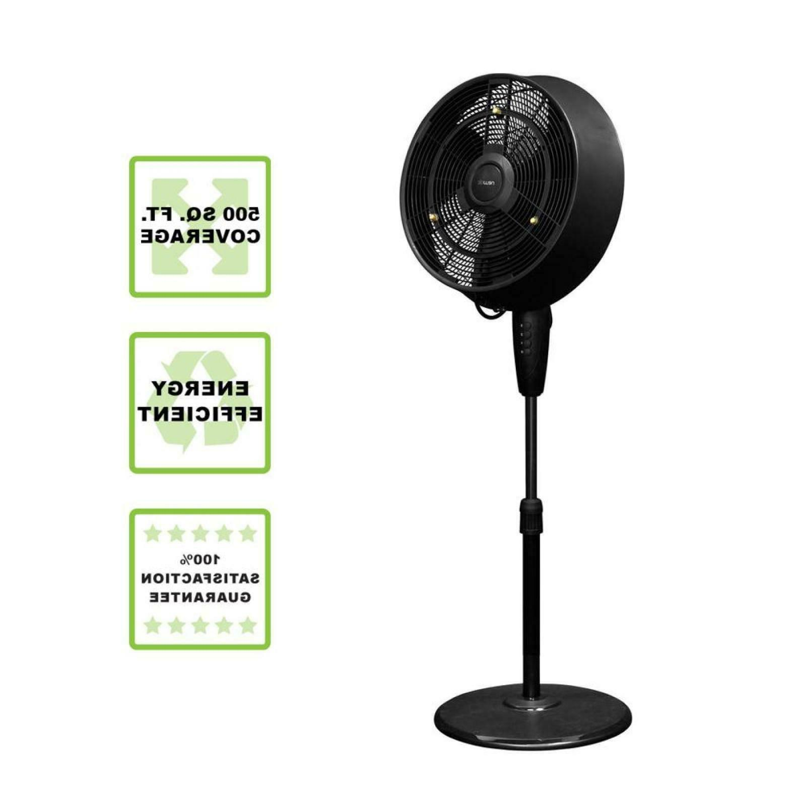 outdoor misting fan powerful misters cover up