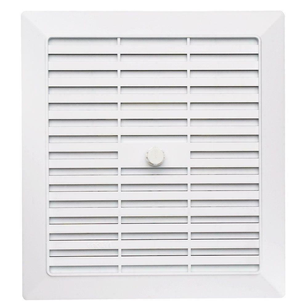 replacement white bathroom vent grille