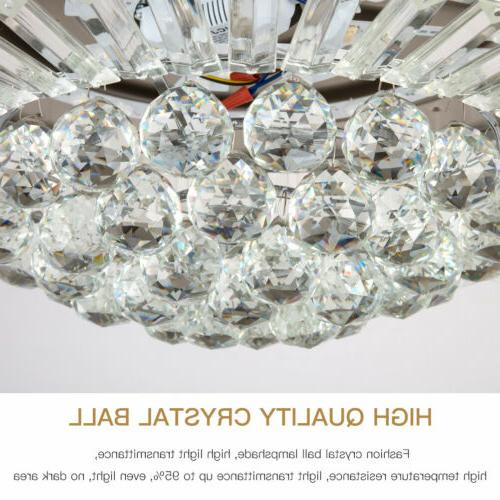 """Silver LED Ceiling Fan Lamp Remote 36"""""""