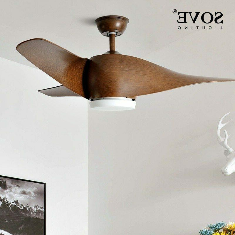 sove brown vintage ceiling fan with lights