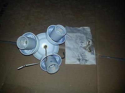 Universal Ceiling Fan Light Fitter  1 and 2 lamp various sty