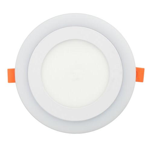 Dual Color LED Ceiling Panel Downlight Lamp