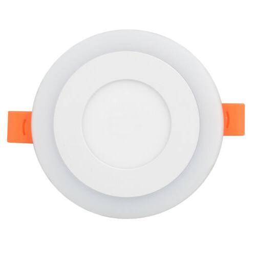 Dual Color RGB Ceiling Recessed Panel Downlight Spot Lamp