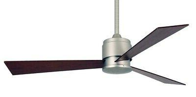 Fanimation Zonix Fan Nickel with Reversible blades.