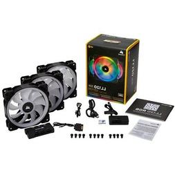 CORSAIR - LL Series 120mm Case Cooling Fan Kit with RGB ligh