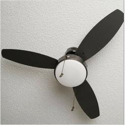 Low Profile Ceiling Fan With Lights 42 In Indoor Industrial