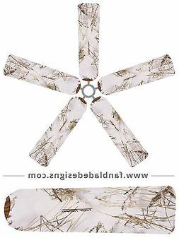 MC 2 Snow True Timber Ceiling Fan Blade Covers