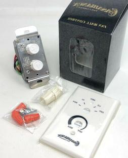 NEW IN BOX Casablanca W-80 Rotary Wall Control 4 Speed and L