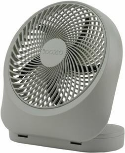 O2COOL Fan 8 Inch Battery/Electric Indoor/Outdoor Portable F