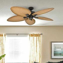 Honeywell Palm Island 50505-01 52-Inch Tropical Ceiling Fan,