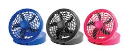 "O2 Cool Personal Fan 5"" 1 speed USB or AC 5 blade PICK YOUR"