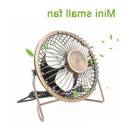 Portable 4-Inch USB Cooling <font><b>Fan</b></font> Small 4