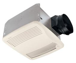 Broan QTXE110S Exhaust Fan QT Fans Combination; White