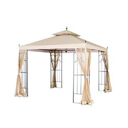 Hampton Bay Replacement Canopy for 10 ft. x 10 ft. Arrow Gaz