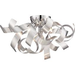Ribbons Flush Mount, Contemporary, Flush Mount