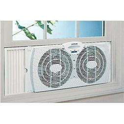Small Window Fan Kitchen Bedroom Dual Reversible Exhaust Por