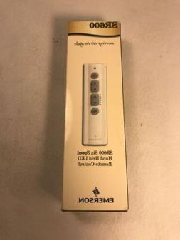 Emerson SR600 6 Speed LED Ceiling Fan Remote Control - White