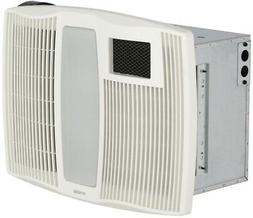 Broan Ultra Silent 110 CFM Bathroom Fan with Heater and Ligh