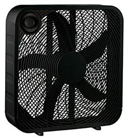 "WP 20"" BLK Box Fan"