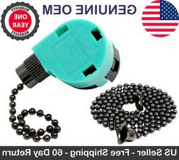 Zing Ear ZE-268S6 ZE-208S6 3 Speed 4 Wire Pull Chain Ceiling